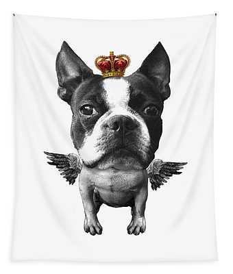 Boston Terrier, The King Tapestry