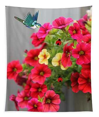 Botanical Bliss Tapestry