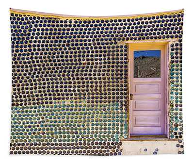 Bottle House Tapestry