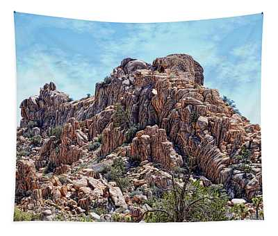 Boulder Stack - Joshua Tree National Park Tapestry