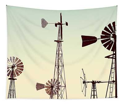 Bountiful Windmills Tapestry