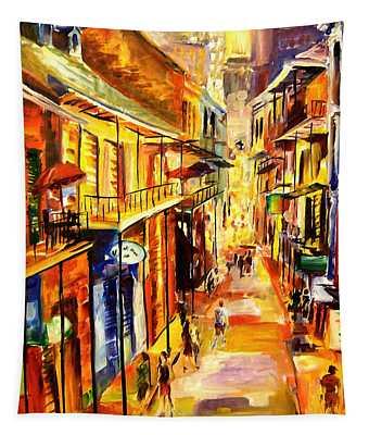 Bourbon Street Glitter Tapestry