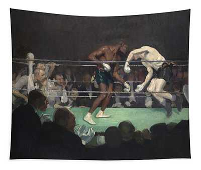 Boxing Match Tapestry