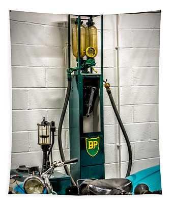Bp Gas Pump Tapestry
