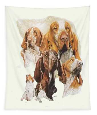 Bracco Italiano Medley Tapestry