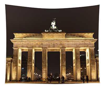 Brandenburg Gate Tapestry