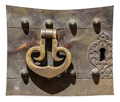 Brass Castle Knocker Tapestry