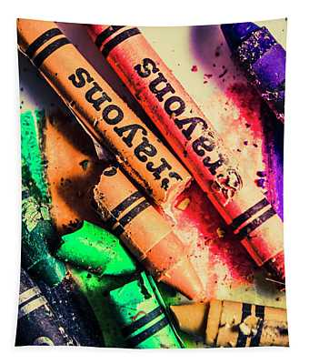 Breaking The Creative Spectrum Tapestry