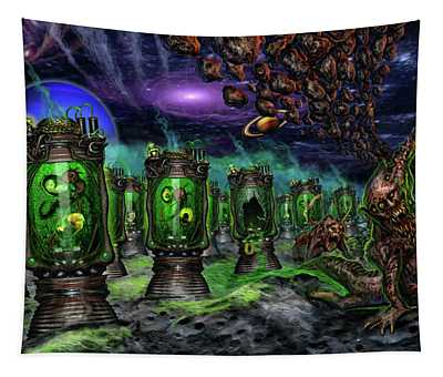 Breeding On Other Lands Tapestry