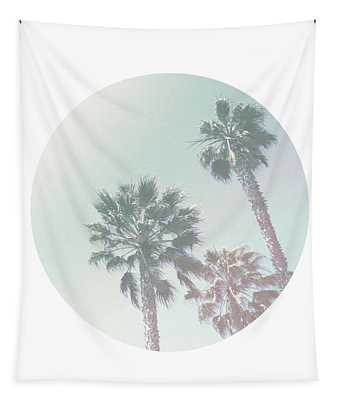 Breezy Palm Trees- Art By Linda Woods Tapestry