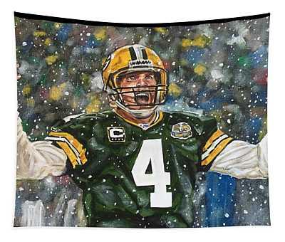 Brett Favre Tapestry