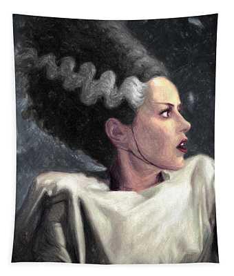 Bride Of Frankenstein Tapestry