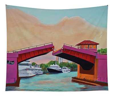 Bridge At Se 3rd Tapestry