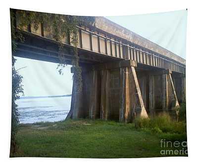 Bridge In Leesylvania Park Va Tapestry