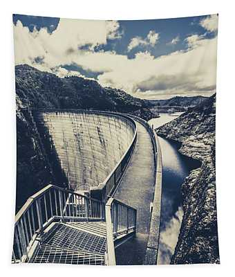 Bridges And Outback Dams Tapestry