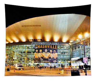 Bridgestone Arena Tapestry