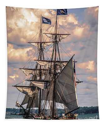 Brig Niagara I Tapestry