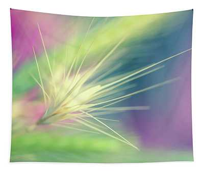 Bright Weed Tapestry
