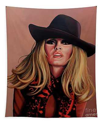 Brigitte Bardot Painting 1 Tapestry
