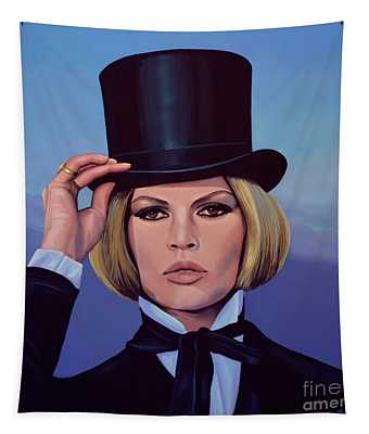 Brigitte Bardot Painting 2 Tapestry