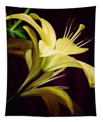 Brilliant Lily Tapestry
