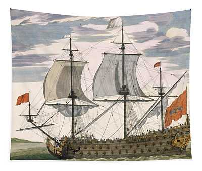 British Navy Tapestry