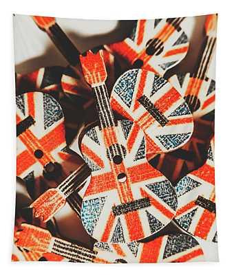 Britpop Nostalgia Tapestry