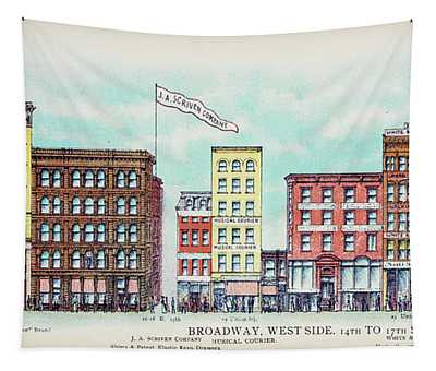 Broadway West Side Tapestry