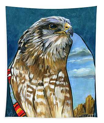Brother Hawk Tapestry