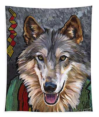 Brother Wolf Tapestry