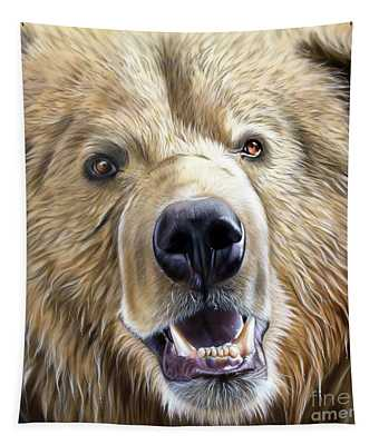 Brown Bear Tapestry