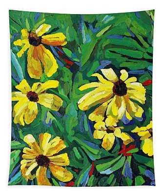 Brown-eyed Susans Tapestry