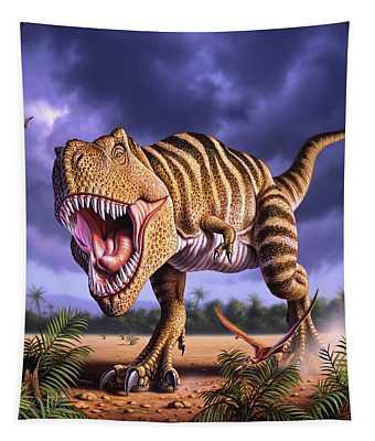 Brown Rex Tapestry