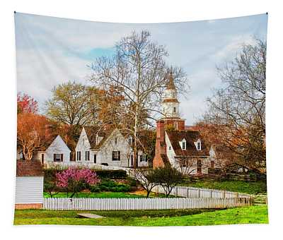 Colonial Williamsburg  Tapestry