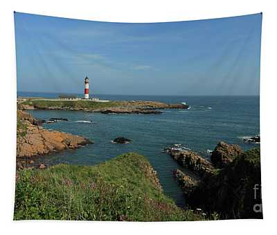 Buchan Ness Lighthouse And The North Sea Tapestry