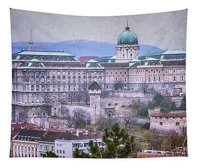 Buda Castle From Gellert Hill Tapestry