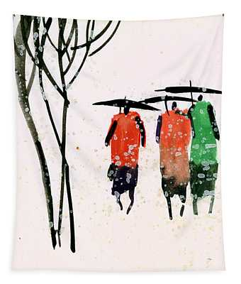 Buddies 3 Tapestry