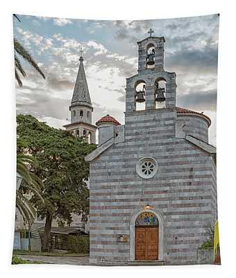 Budva Church Of Holy Trinity Tapestry