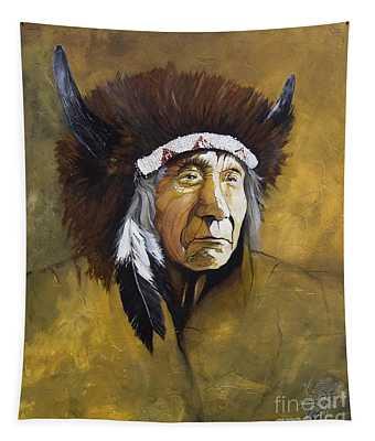 Buffalo Shaman Tapestry