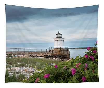 Bug Light Blooms Tapestry