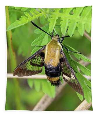 Bug On A Leaf Tapestry