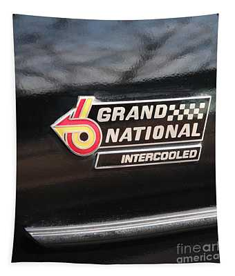 Buick Grand National Emblem Tapestry