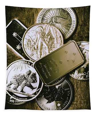 Bullion Wealth Stockpile Tapestry