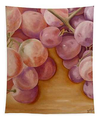 Bunch Of Grapes Tapestry