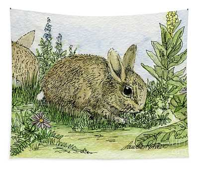 Bunnies Tapestry