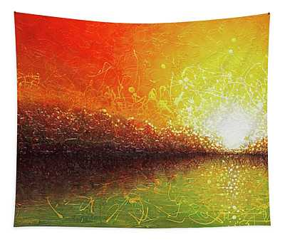 Bursting Sun Tapestry