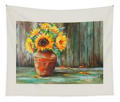Bursts Of Sunshine Tapestry