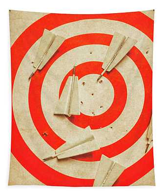Business Target Practice Tapestry