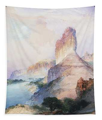Butte Green River Wyoming Tapestry