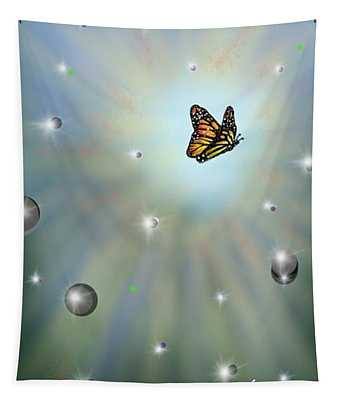 Butterfly Bubbles Tapestry